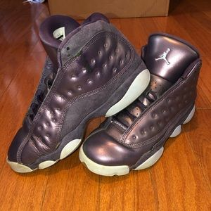 Kids Dark Raisen Jordan Retro 13's